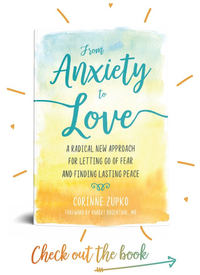 From Anxiety To Love - check out the book!